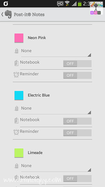 Post-it Notes with Evernote