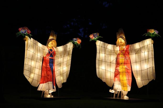 봉은사 전통등 전시회 승무