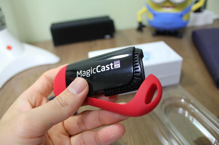 매직캐스트 MagicCast on air 사용후기 매직라이브 실시간 중계 스마트폰 미러링 기능