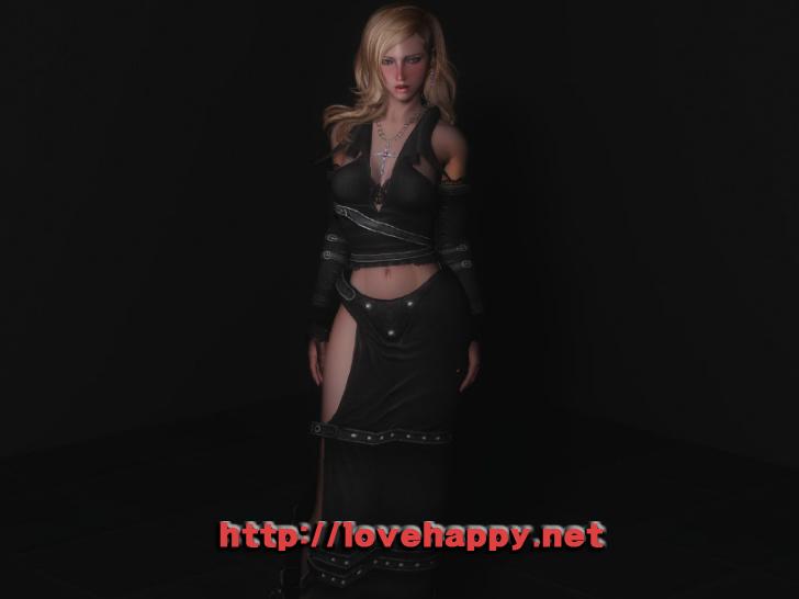 스카이림 의상 - 로그 의상 ravenous elegance clothes skyrim mod 002