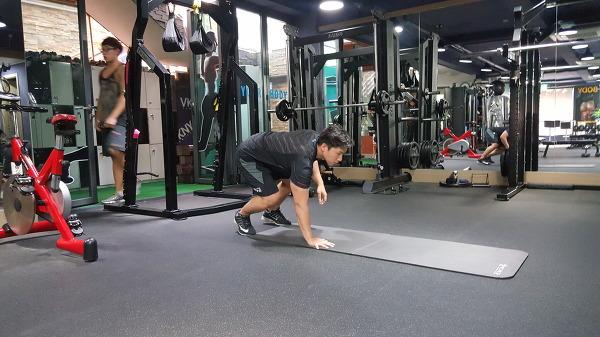 암워킹&스쿼트(Armwalking&spuat)