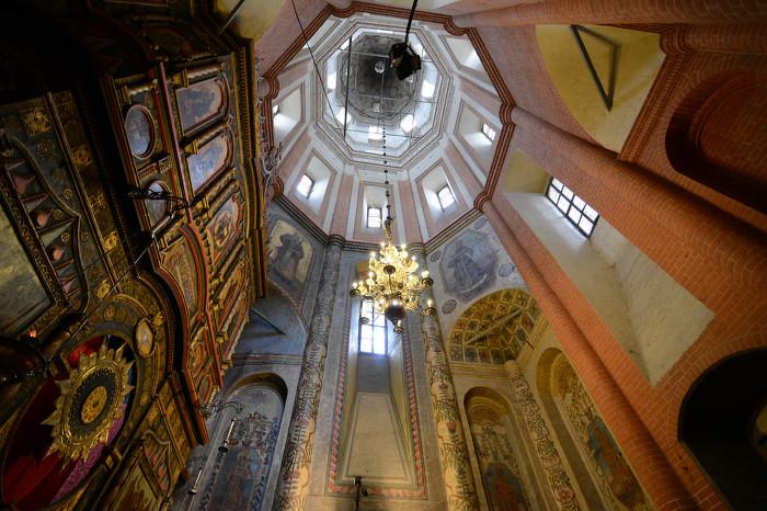 성 바실리 대성당 Saint Basil's Cathedral 내부