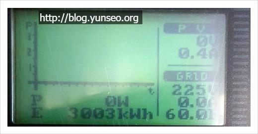 2016년 7~8월 한여름 태양광 발전기 발전량 - 인버터 교체