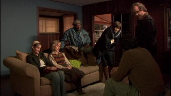 영화 '맨 프럼 어스'의 린다, 이디스(에디스), 댄, 샌디, 해리(좌측부터)