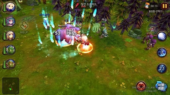 신작RPG게임, 구원자들, 스마트폰게임추천, 게임플레이