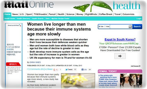 장수-힐링-건강-평균 기대수명-live long-man women-immune systems-age-장수-백혈구-적혈구-수명-힐링-웰빙-건강-운동-노화-노화세포-장수비결