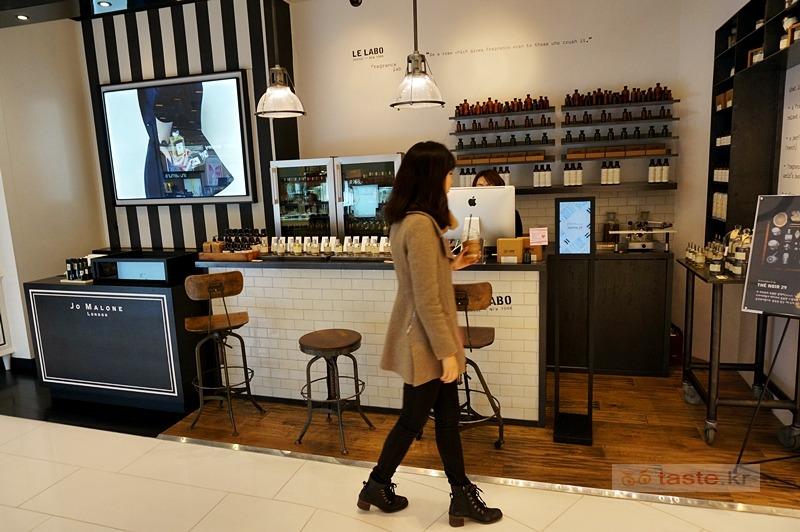 국내 매장은 단 한 곳만 있는 니치향수 브랜드 - 르 라보 상탈33 샌달우드 구입기 in 갤러리아 명품관