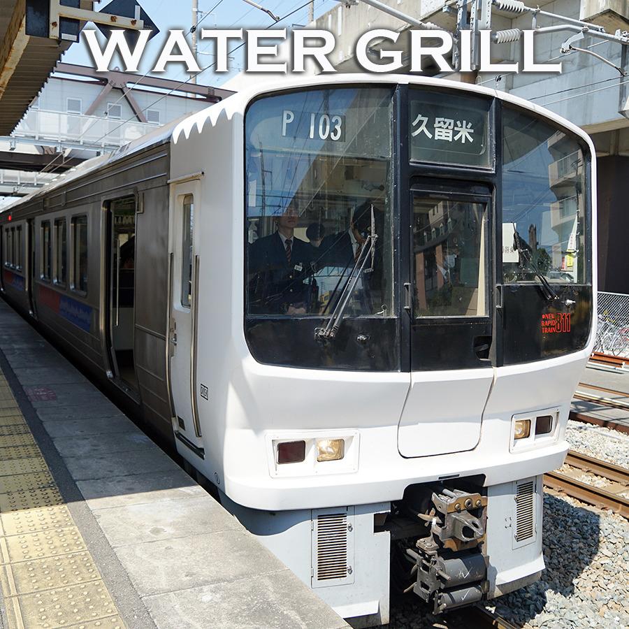 JR큐슈 체험 후 하카타역 런치~ 워터그릴키친 킷테하카타점