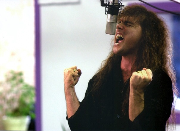 Rob Rock Singing
