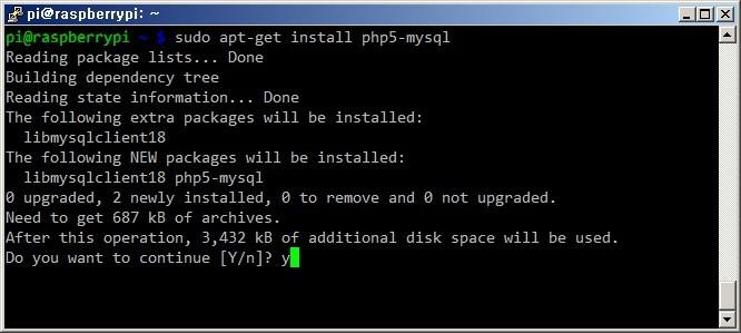 라즈베리파이 Raspberry Pi 웹프로그래밍 언어 PHP 설치방법 리눅스 라즈비안 PHP 환경구축