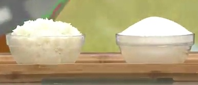 흰쌀밥&설탕
