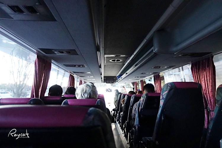 두브로브니크 공항 버스안
