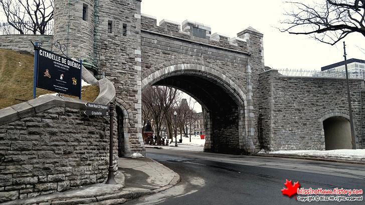 캐나다 동부여행 퀘벡 시티 올드 퀘벡 성벽