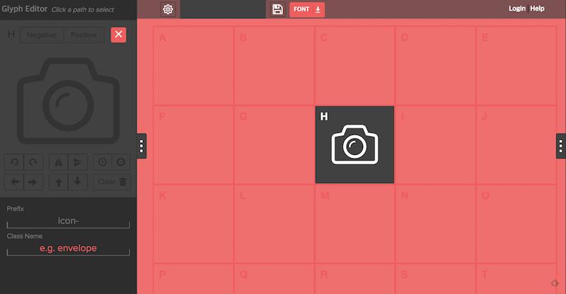아이콘 폰트, 무료 제작 서비스 Glyphter로 쉽게, 자유롭게 활용하는 법