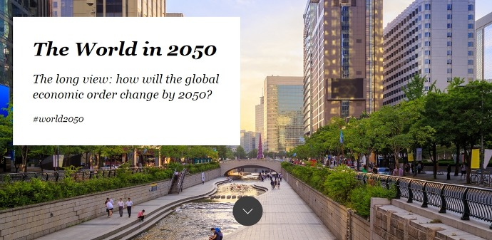 Image result for world 2050 The long view: how will the global economic order change by 2050
