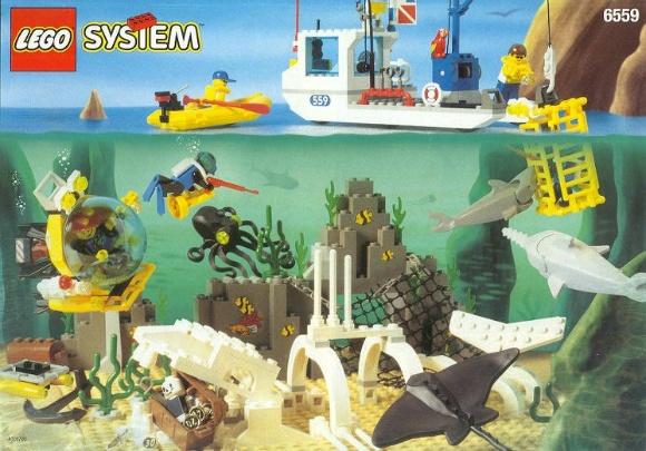 레고 시티 해저탐사대