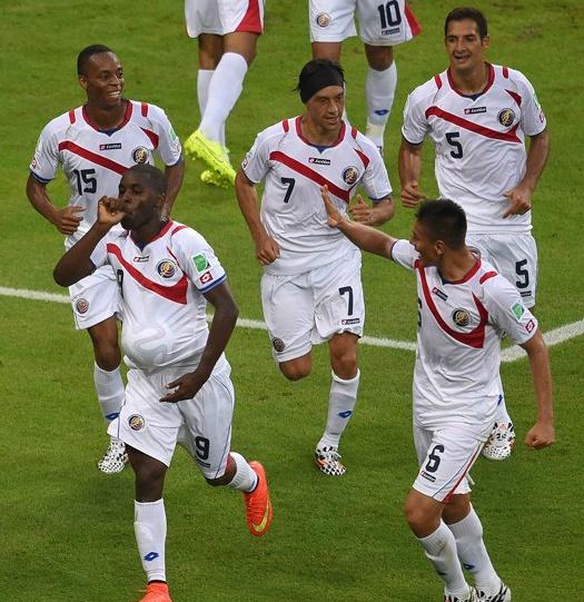 [2014 브라질 월드컵] 이변! 코스타리카 vs 우루과이 3:1 코스타리카 승리