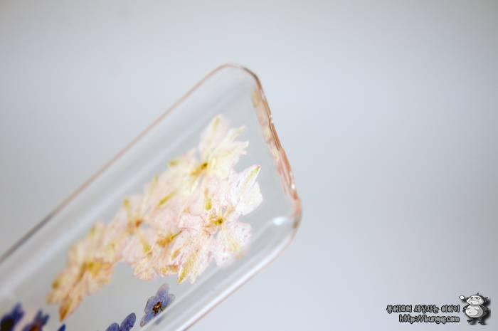 아이폰6, 생화, 케이스, 에코홀릭, 후기, 꽃무늬
