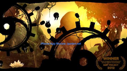 Badland 2013 올해의 앱스토어 최고의 게임