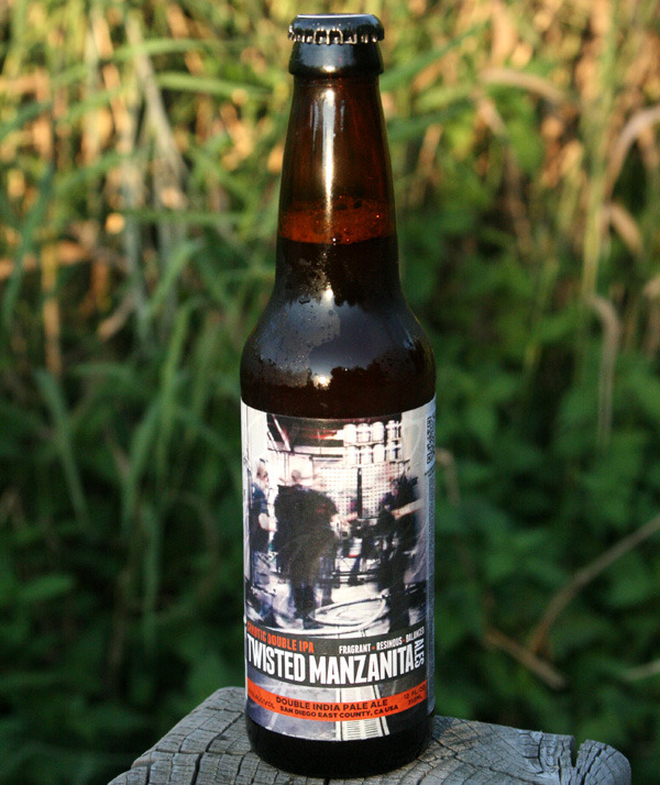 Twisted Manzanita Chaotic Double IPA (트위스티드 맨자니타 케이오틱 더블 IPA) - 9.7%