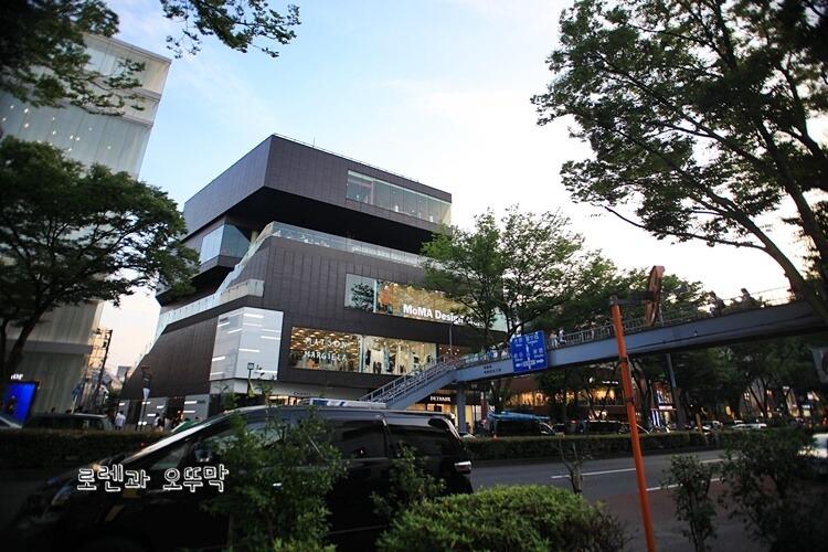 하라주쿠 오모테산도 쇼핑거리 걷기5