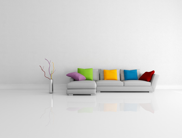 Simple living room HD picture