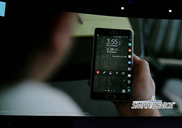삼성, 삼성전자, 삼성 언팩, 삼성 언팩 2014 에피소드2, 갤럭시 노트 엣지, 갤럭시노트 엣지, 갤럭시 노트 엣지 스펙
