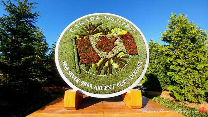 캐나다 건국 150주념 기념 동전입니다