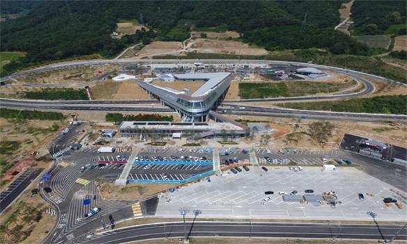 내린천 휴게소. 사진: 국토교통부