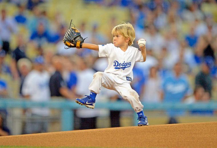 first pitch boy child