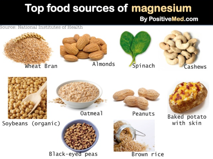 마그네슘 음식