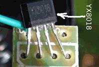 YX8018 Datasheet / YX8018 Solar LED driver