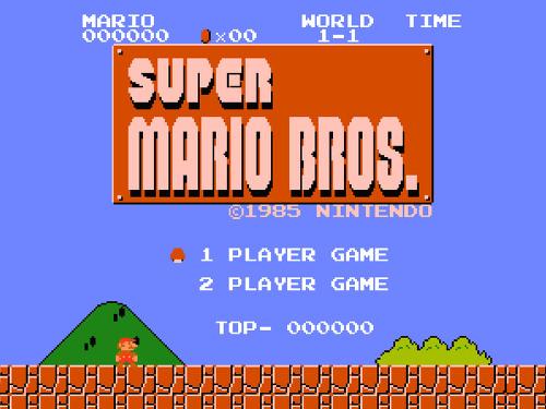 슈퍼 마리오 Super Mario Bros 1985
