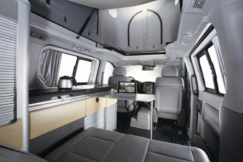 현대차, 그랜드 스타렉스 캠핑카 출시2