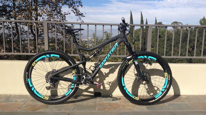 Bike Photo Santa Cruz 5010 Custom Decals