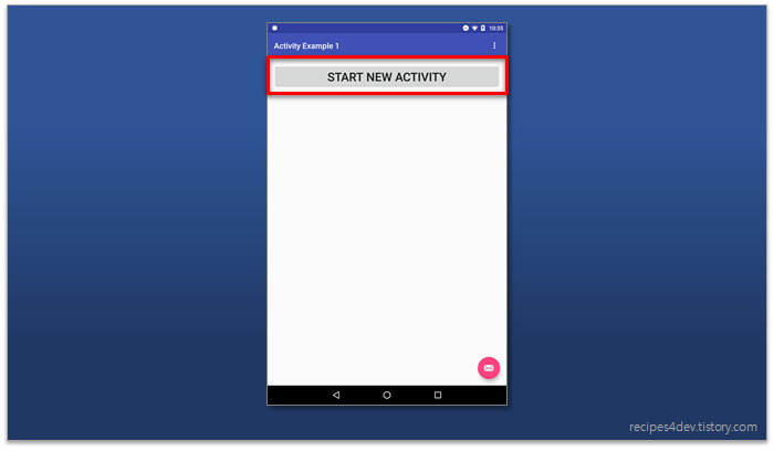 Mvc button click event android