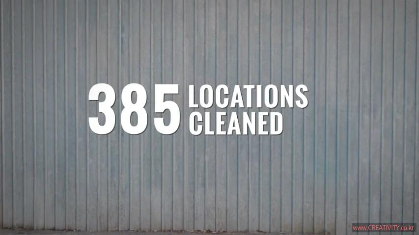 거리의 과격한 낙서들을 스마트폰앱으로 촬영하면, CIF가 모두 깨끗이 지워준다! 유니레버(unilever)의 청소용품 브랜드 CIF의 루마니아 거리 낙서청소, 사회공헌 캠페인 - Cif가 루마니아를 깨끗하게!(Cif Cleans Romania!) [한글자막]