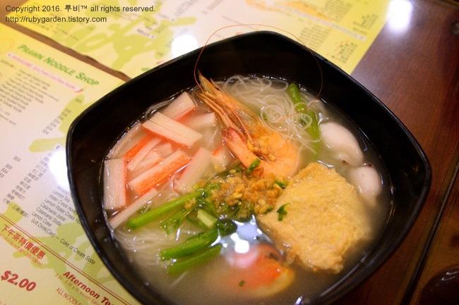 홍콩 여행 / 홍콩 완차이 맛집 / 현지인 입맛을 사로잡은 프론누들 숍(Prawn Noodle Shop)