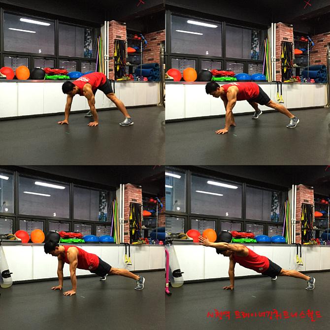몸의 중심을 튼튼하게 하는 맨몸 전신운동(코어운동법)