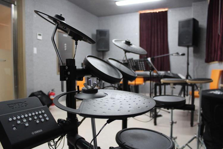 본관 밴드실 전자 드럼