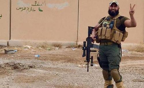 혼자서 1,500명의 IS를 발라버린 이라크의 람보