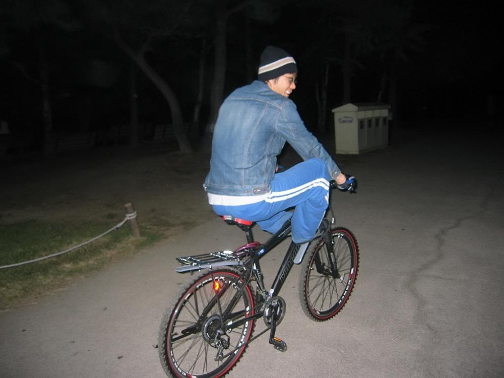 자전거로 달리자 - 여행가기전 기초체력강화용 밤바리 : 27531948513B8A2322BE89