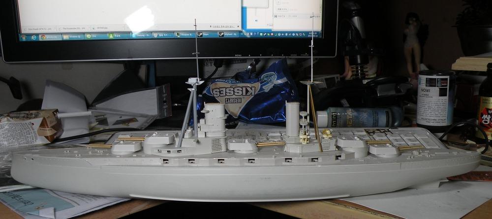 1/350 HMS 쾨니히 작업2
