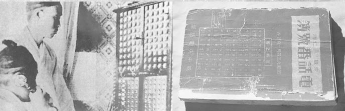 전화도입 초창기의 남자 전화교환수,  1930년대 전화번호부