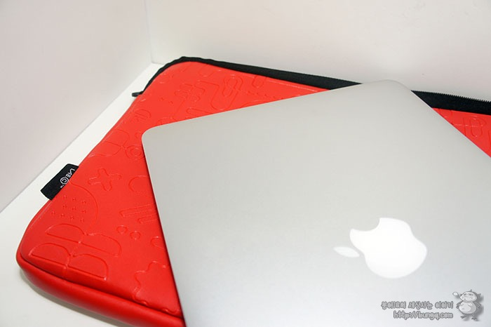 맥북 파우치, 랩씨 패턴 슬리브 맥북프로 13인치용 파우치 후기