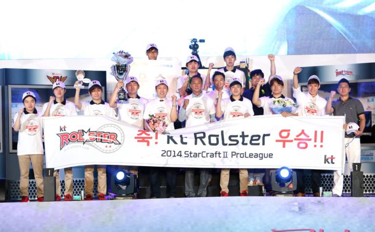 2014 스타크래프트 2 우승팀 kt롤스터