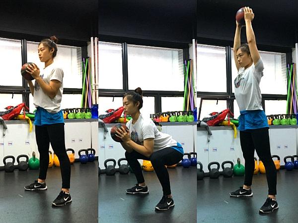 공을 이용한 하체 운동 3가지(메디신볼 운동/ 시청역헬스장)