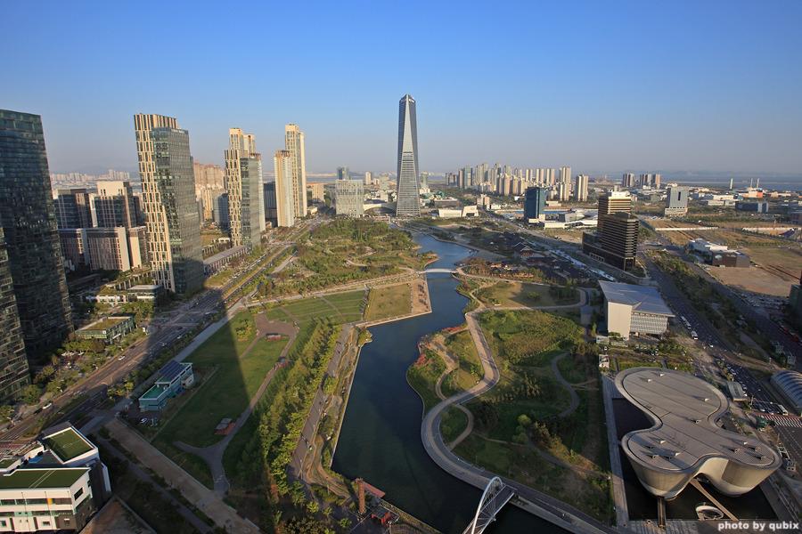 인천의 맨하탄 송도신도시 | 인천여행, 인천 가볼만한곳,G타워 전망대, 더샵퍼스트월드