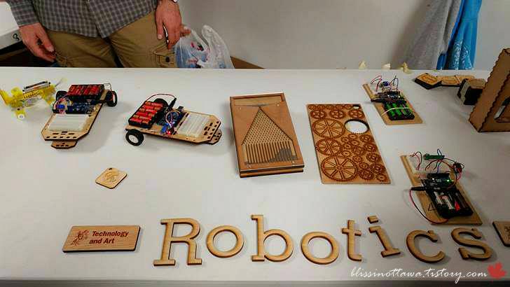 로봇 공학 데모입니다