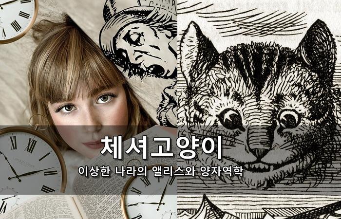 체셔고양이 - 이상한 나라의 앨리스와 양자역학